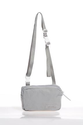 SMART BAGS Smb6000-0078 Gri Kadın Minik Çapraz Çanta