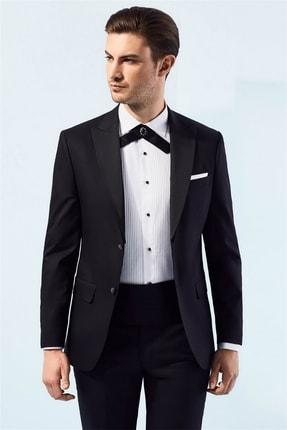 Efor 049 Slim Fit Siyah Black Takım Elbise