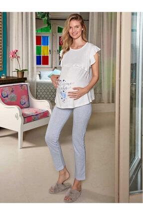 Berrak 896 Kadın Hamile Pijama Takım