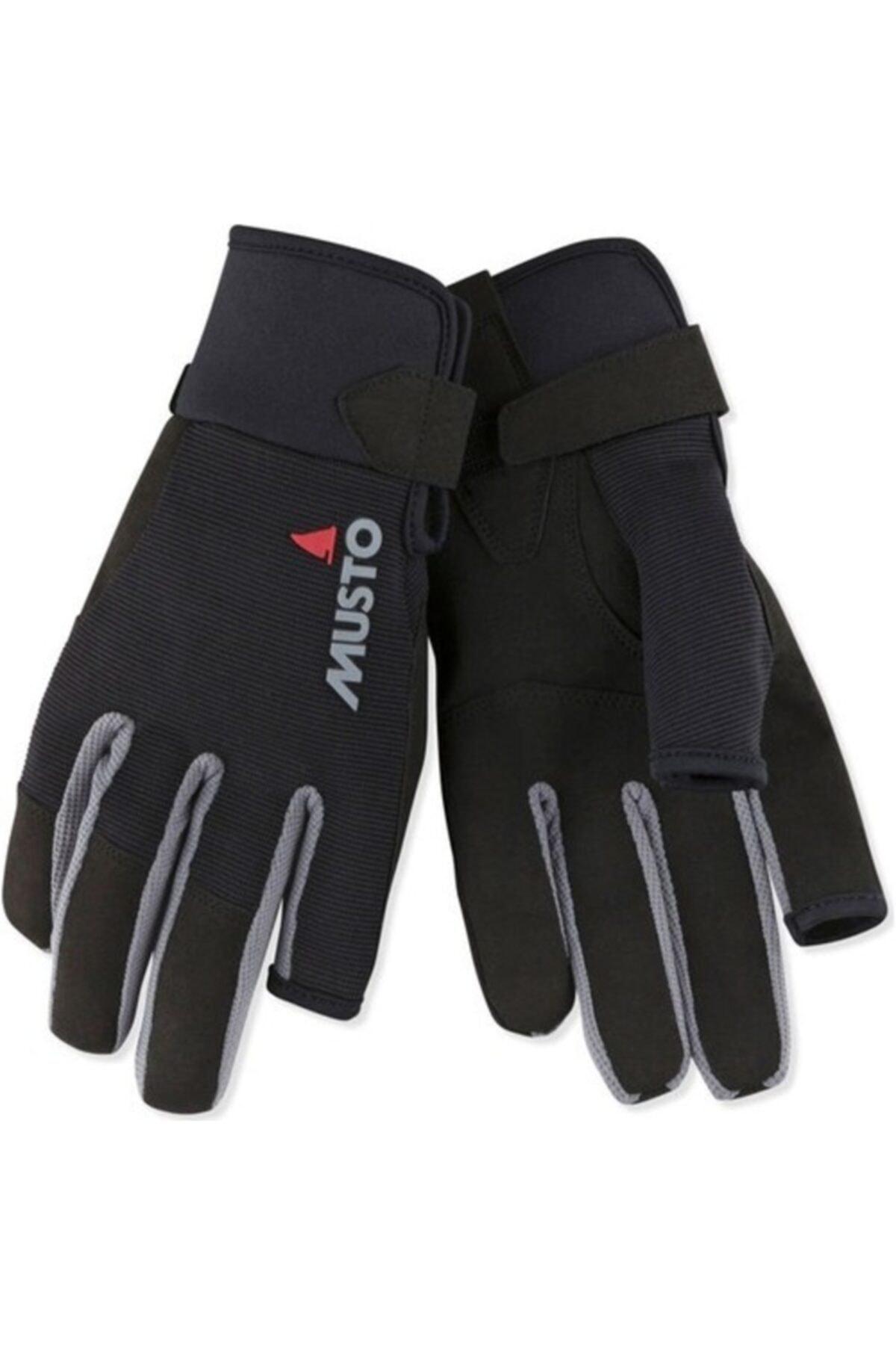 Musto Ess Sailing Lf Glove Siyah Yelken Eldiveni 1