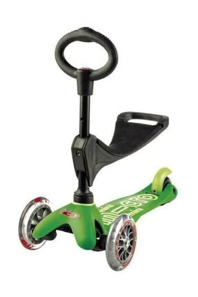 Micro Mini Scooter 3 In 1 Deluxe Green