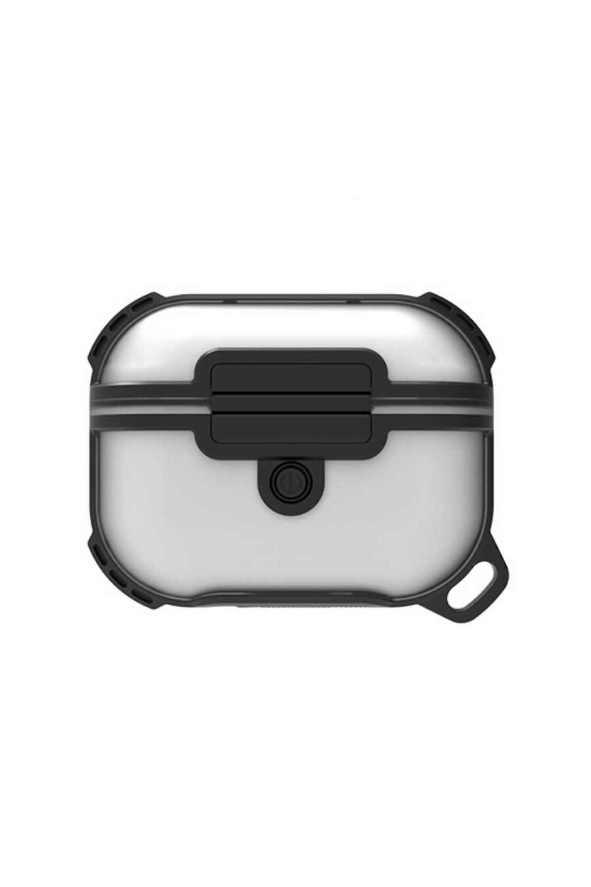zore Airpods Pro Uyumlu Airbag 16 Zırh Su Geçirmez Askılı Şarj Kutusu Koruyucu 1