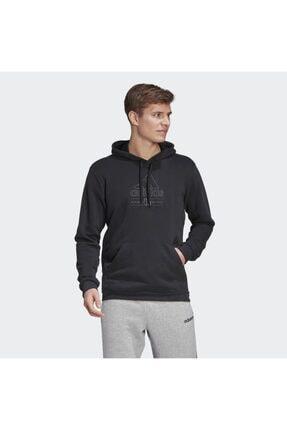adidas M Bb Hd Sw Erkek Siyah Günlük Stil Sweatshirt Gd3831