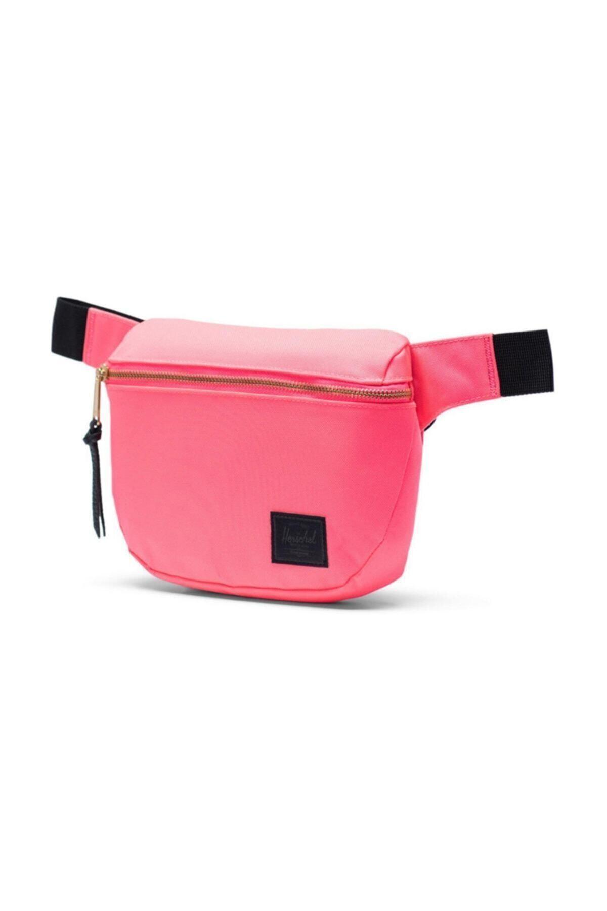 Herschel Supply Co. Herschel Bel Çantası Fifteen Neon Pink/black 2