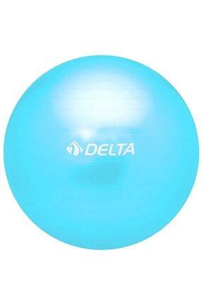 Delta 65 Cm Mavi Dura-strong Deluxe Pilates Topu