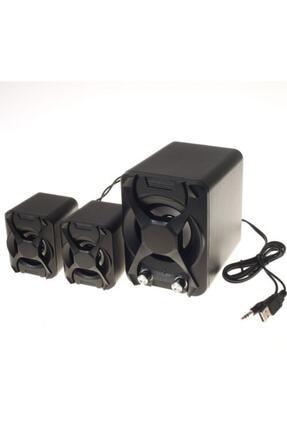 Platoon Pl-4243 Mini 2+1 Usb Multimedia Speaker