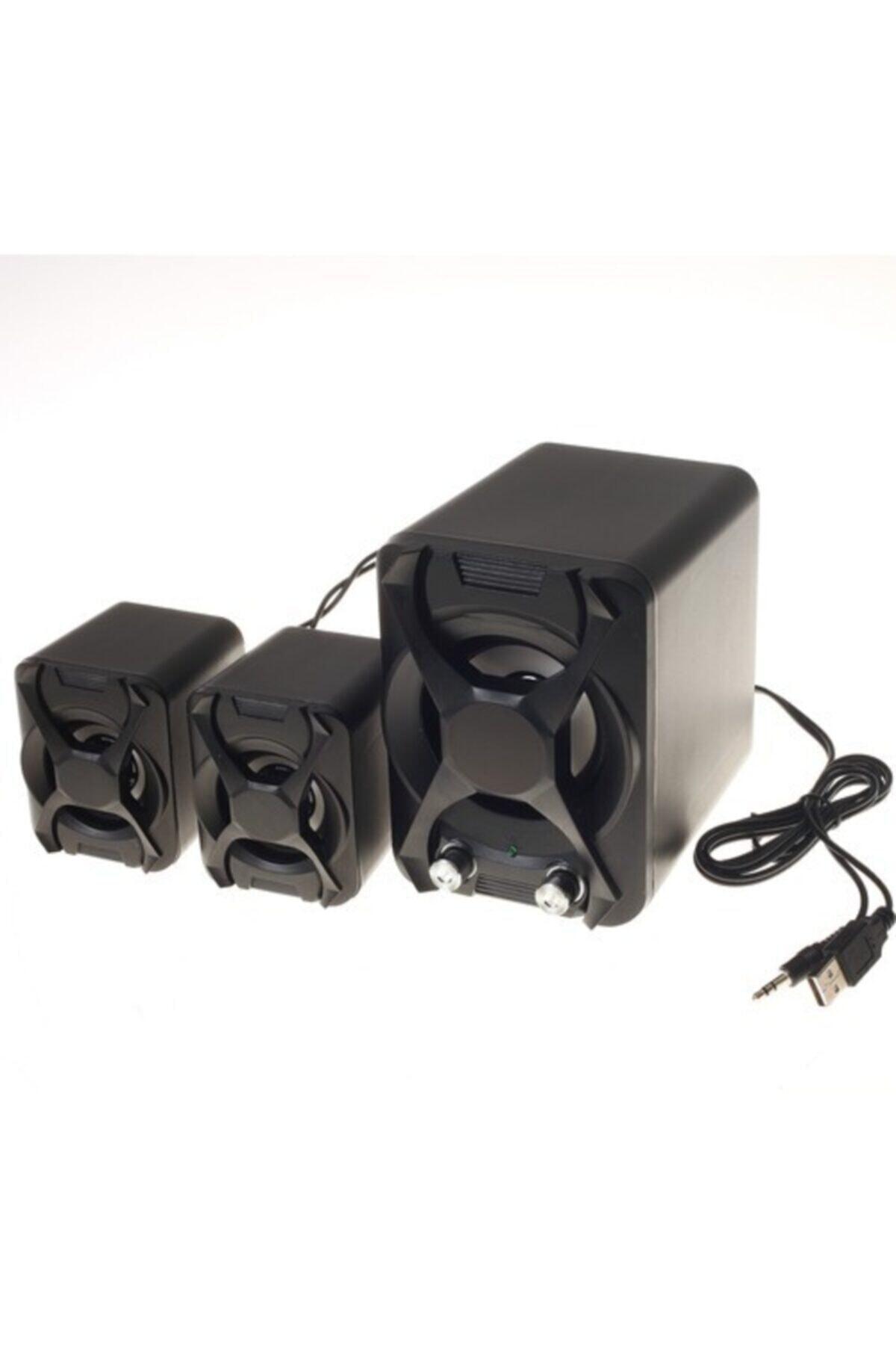 Platoon Pl-4243 Mini 2+1 Usb Multimedia Speaker 1