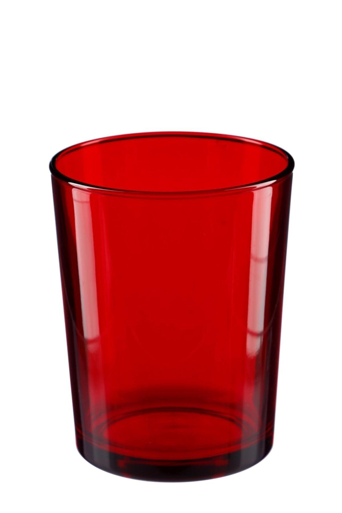 Bormioli Rocco Tipo Su Bardağı - Kırmızı 43,5 Cl 6'lı Set 1