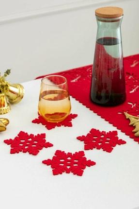 LCW HOME Kırmızı  Masa Örtüsü