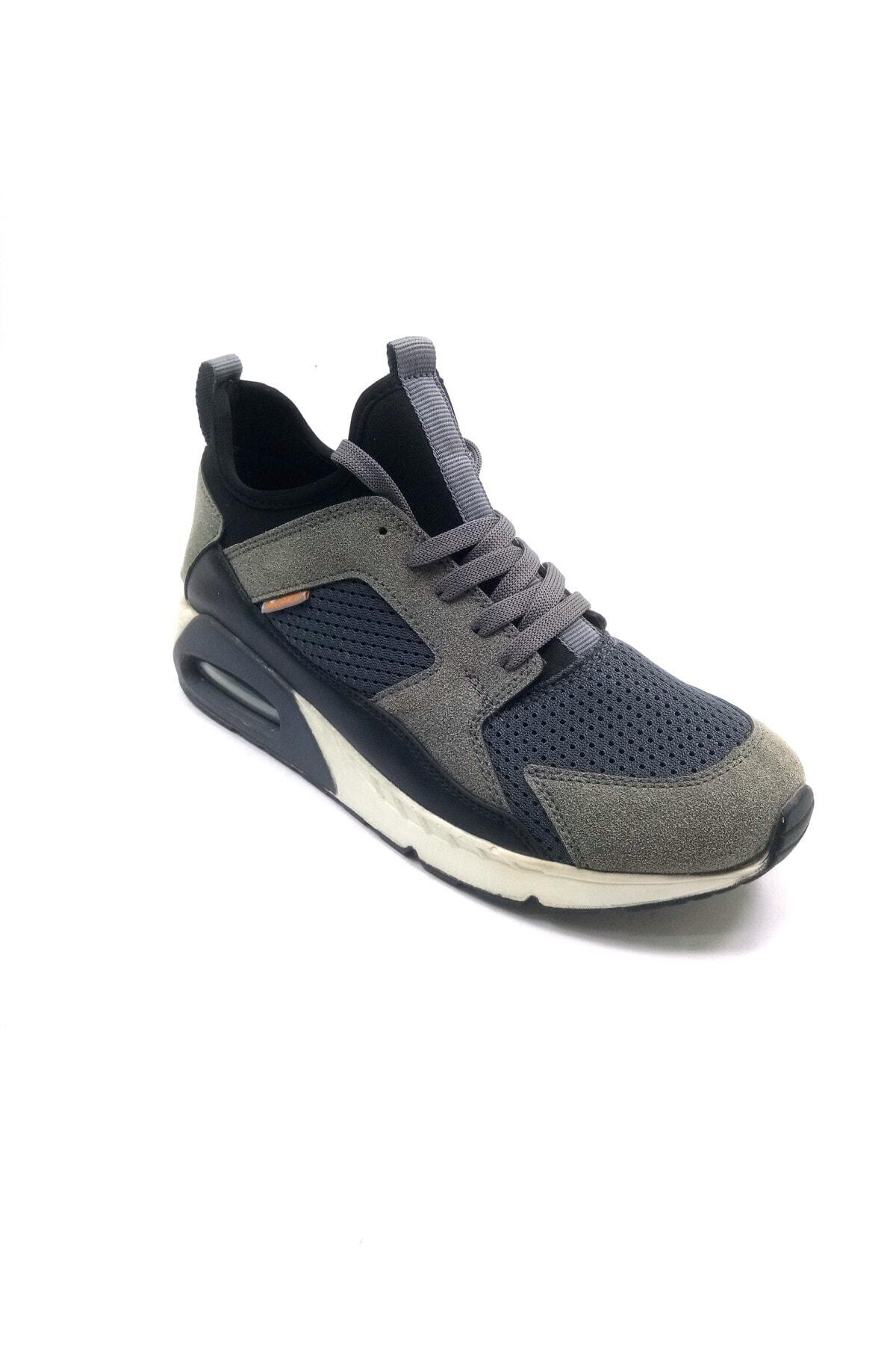 Bulldozer Erkek Aır Max Gri Spor Ayakkabı 1