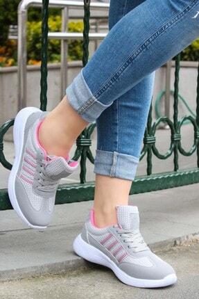 FAST STEP Füme Fuşya Kadın Sneaker Ayakkabı 925za221