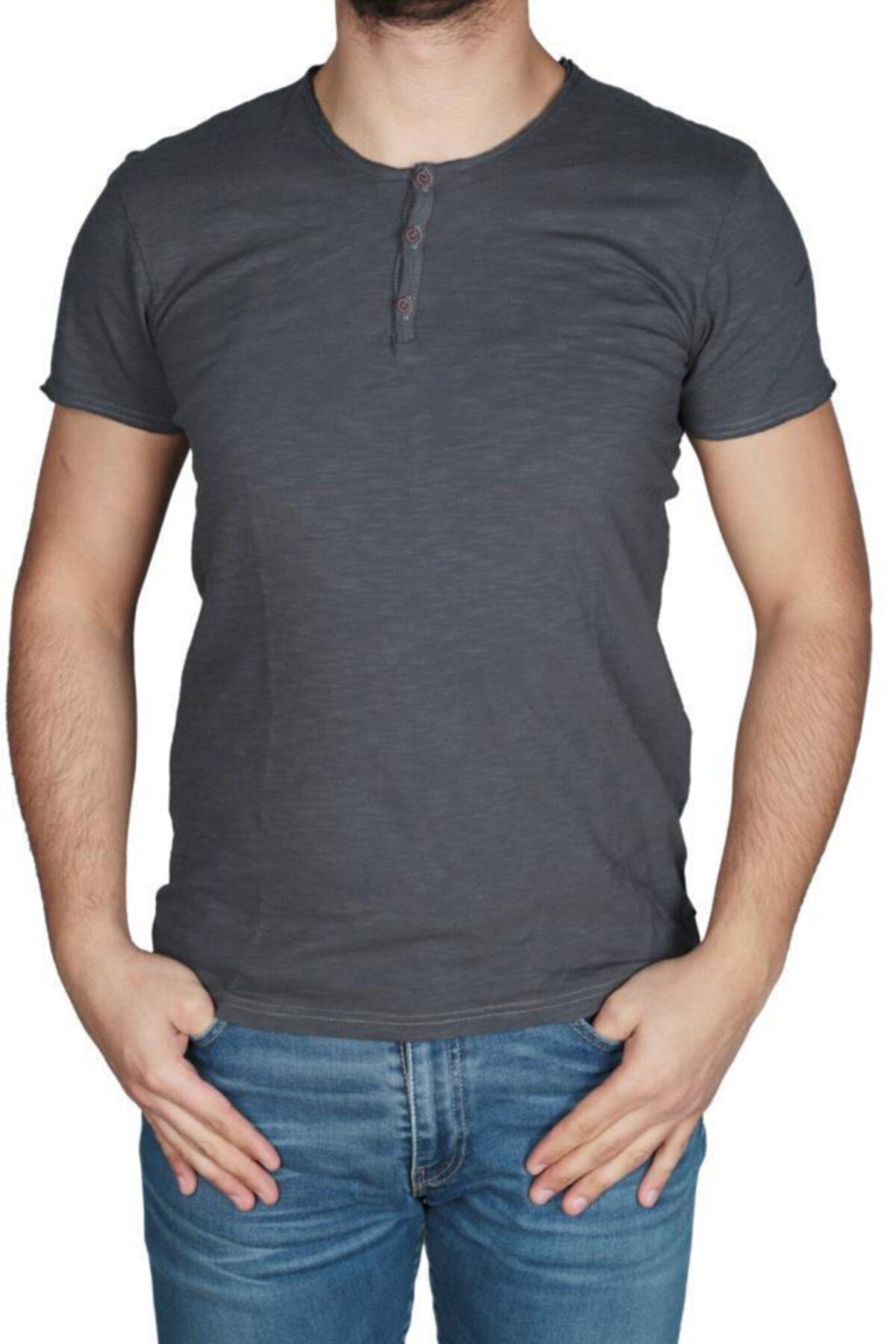 Bad Bear Erkek 3 Düğmeli Tişört 17.01.07.013 1