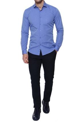 Efor P 945 Slim Fit Lacivert Kanvas Pantolon