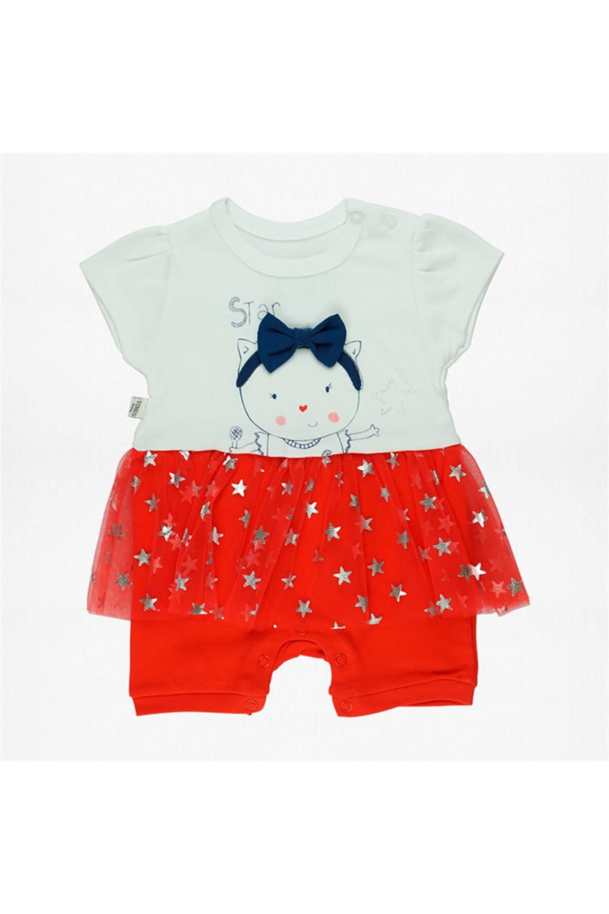 Tongs Baby Kırmızı Tulum 1