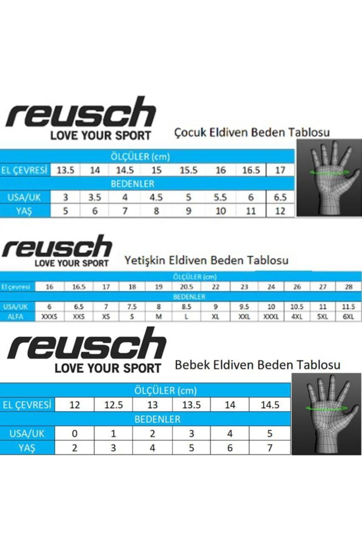 Reusch - Valentina Gtx Kayak Eldiveni 2