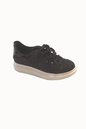 Tyess Kız Çocuk Siyah Ayakkabı