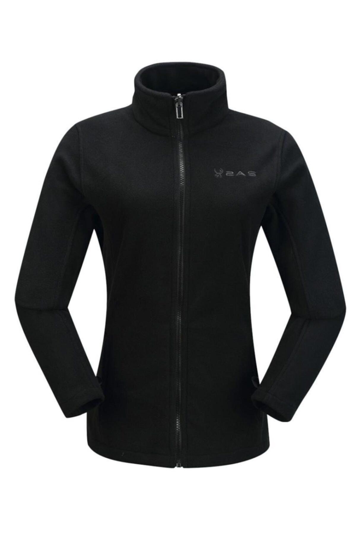 2AS Kadın Siyah Sparkle 3in1 Ceket 2