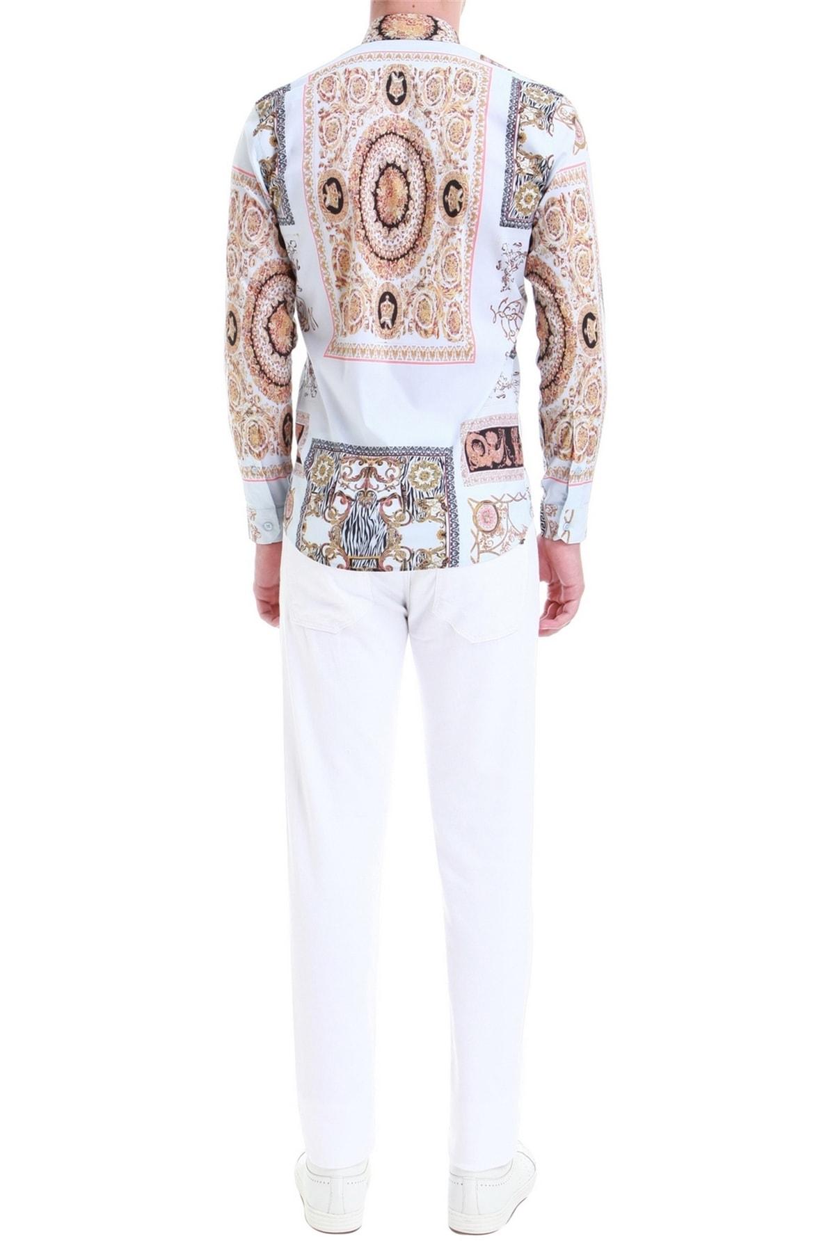 Efor 033 Slim Fit Beyaz Jean Pantolon 2