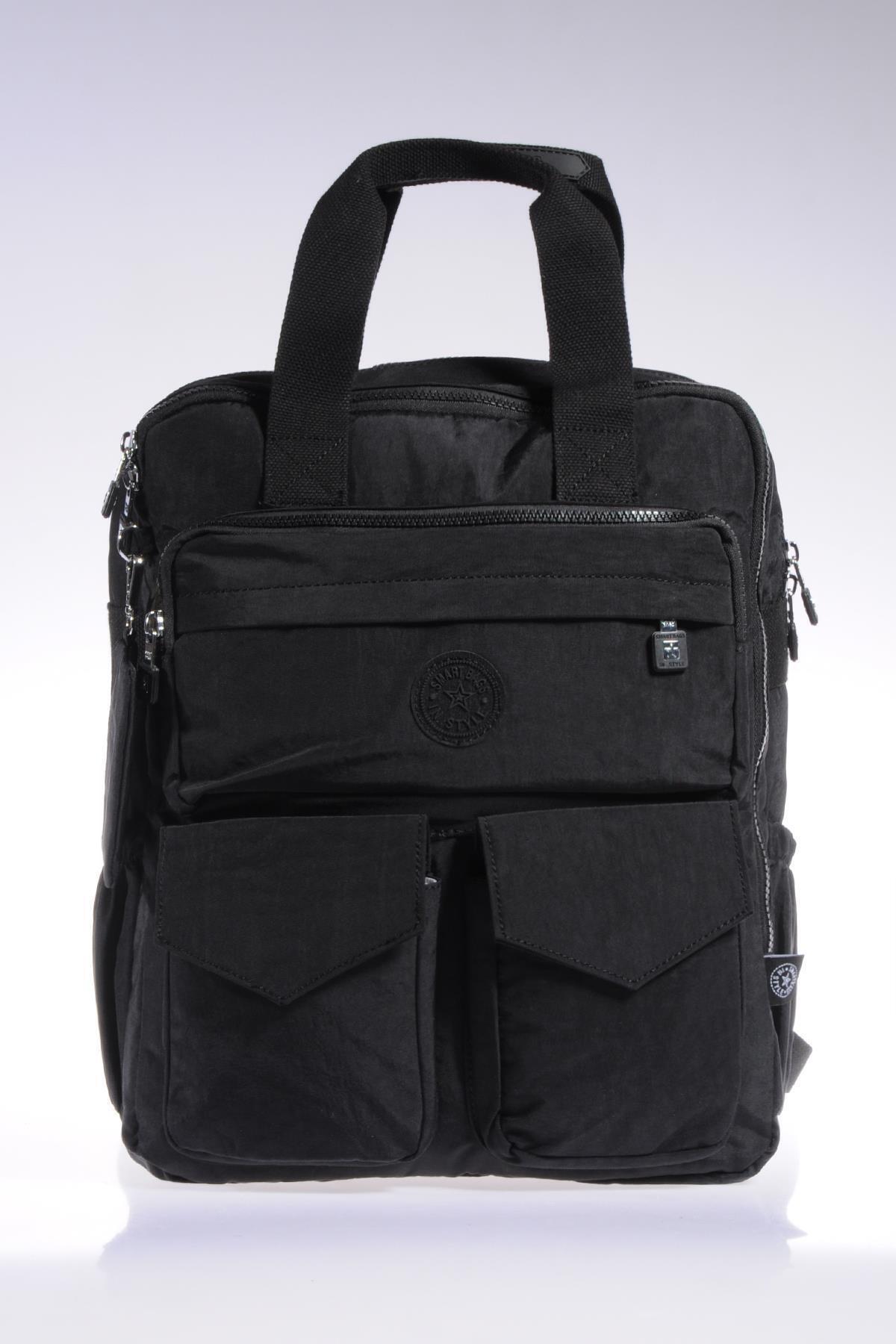 SMART BAGS Smb1175-0001 Siyah Kadın Sırt Çantası 1
