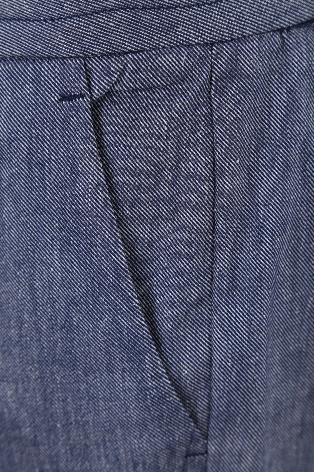 W Collection Lacivert Relax Pantolon 2