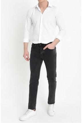 Efor 045 Slim Fit Gri Jean Pantolon