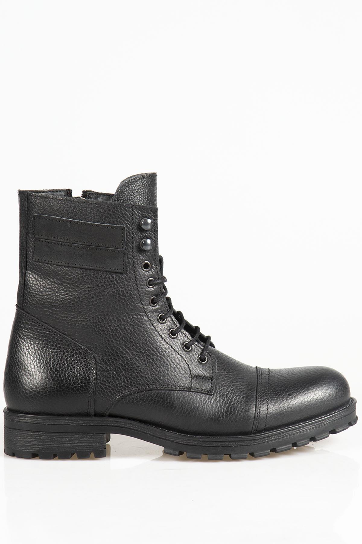 Ayakkabı Çarşı Kahverengi Askeri Kürklü Erkek Bot Bt118 2