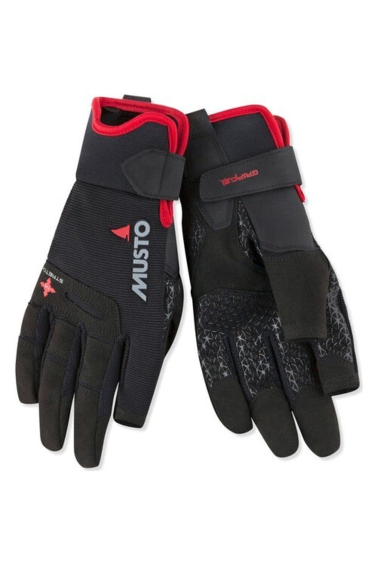 Musto Perf Lf Glove Kırmızı Yelken Eldiveni 1