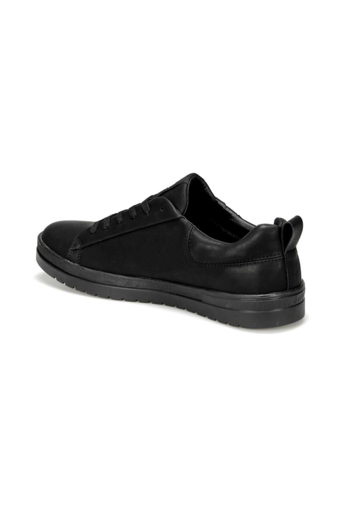 U.S. Polo Assn. NOEL 9PR Siyah Erkek Kalın Taban Sneaker Spor Ayakkabı 100420455 2