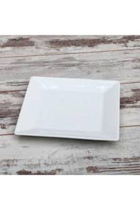 Güral Porselen Kare Servis Tabağı 6'lı 24*24 Cm