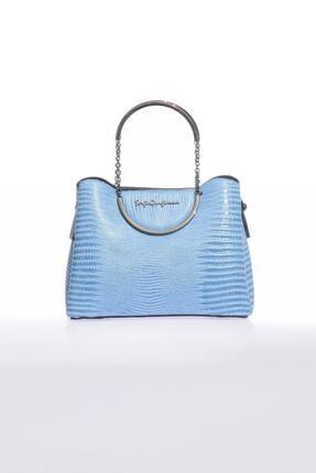 Sergio Giorgianni Luxury Sg0715 Mavi Kadın Omuz Çantası