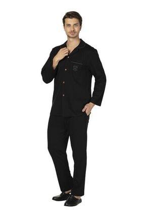 D'S Damat Pijama Takımı Düğmeli Comfort