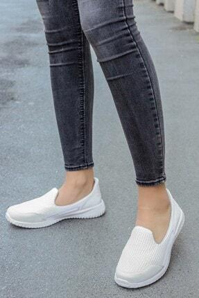 FAST STEP Beyaz Kadın Yürüyüş Ayakkabı 925za1017