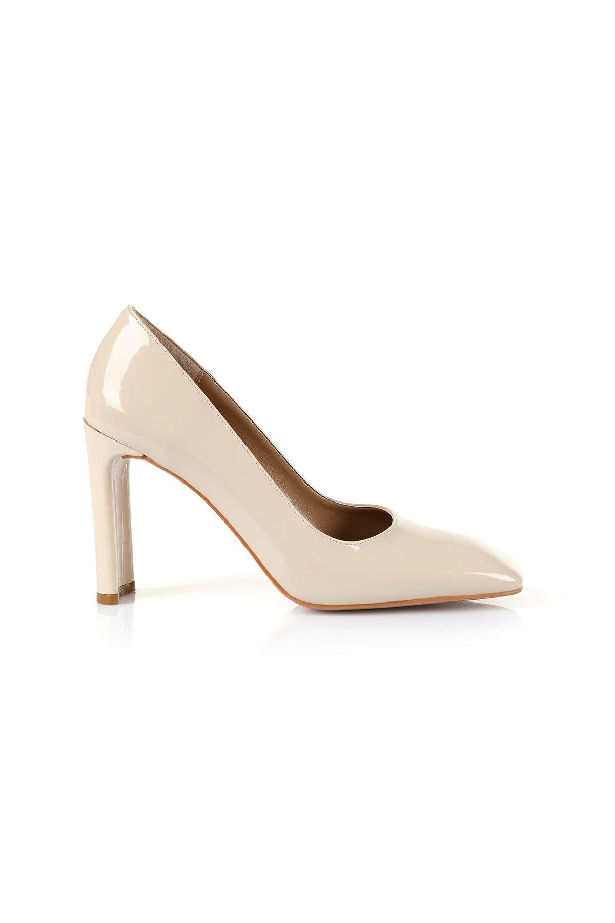 Oblavion Petra Bej Topuklu Ayakkabı 1