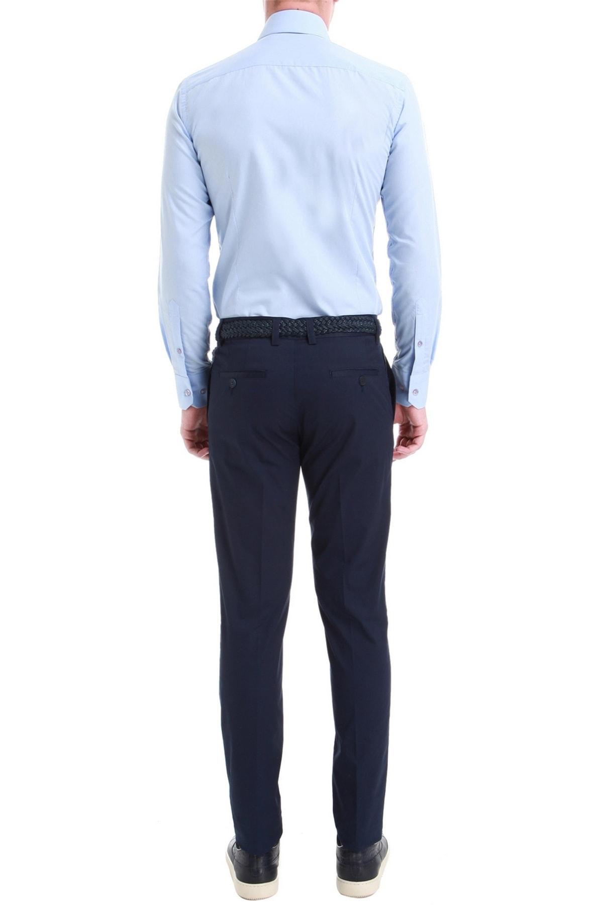 Efor P 1058 Slim Fit Lacivert Spor Pantolon 2