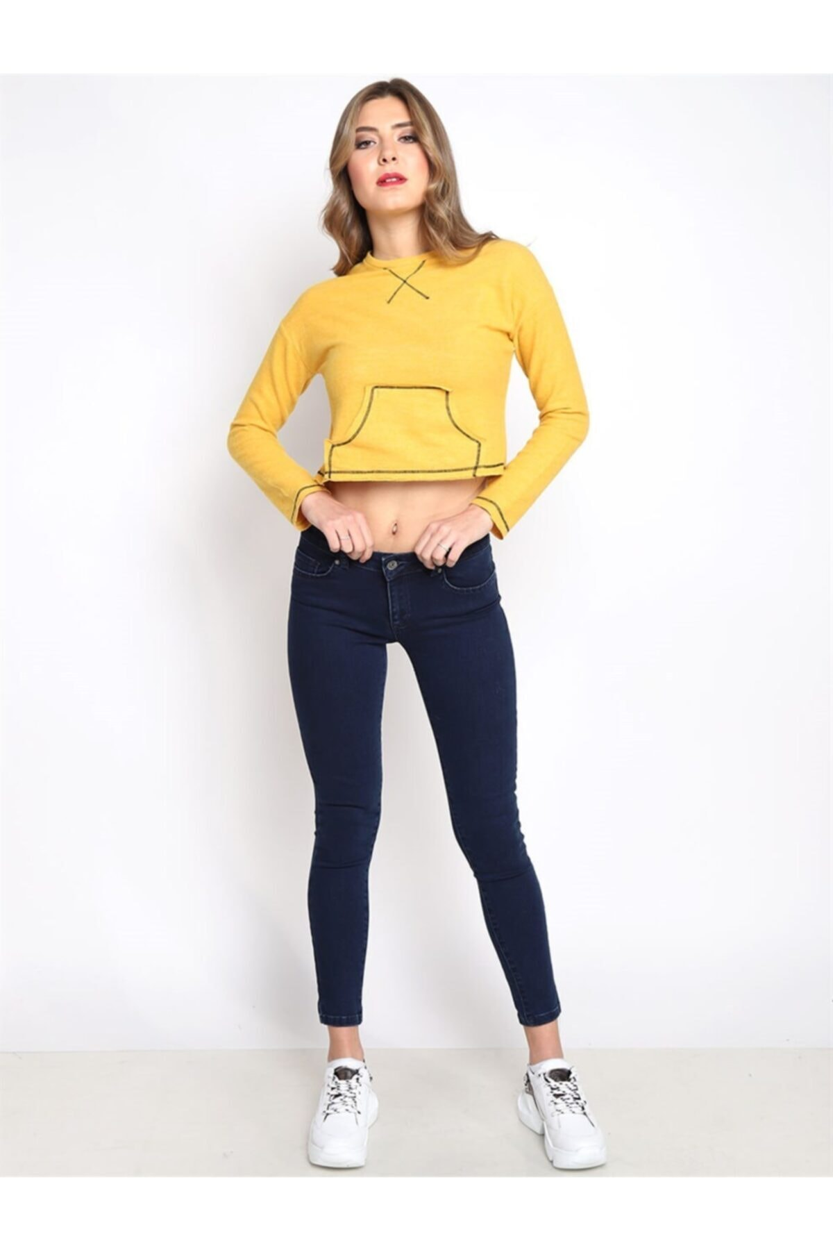 Twister Jeans Kadın Slim Fit Orta Bel Pantolon Lıma 9046-36 36 1