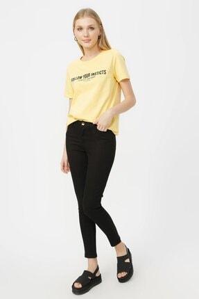 Loft Kadın Skinny Siyah Pantolon Lf2023159