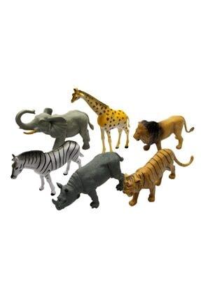 Vardem 6 Parça Hayvan Seti Vahşi Hayvanlar