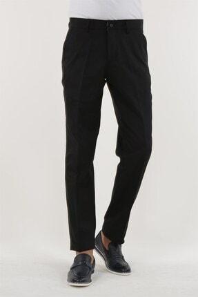 Jakamen Siyah Renk Klasik Kalıp Erkek Pantolon