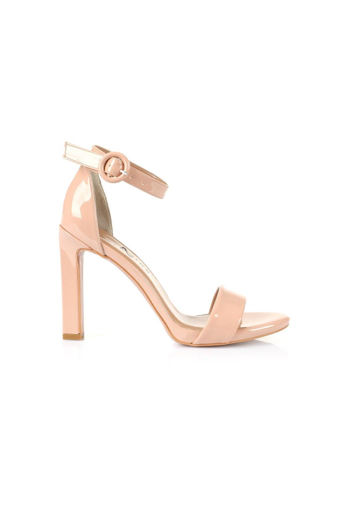 Oblavion Carmen Nude Topuklu Ayakkabı 1