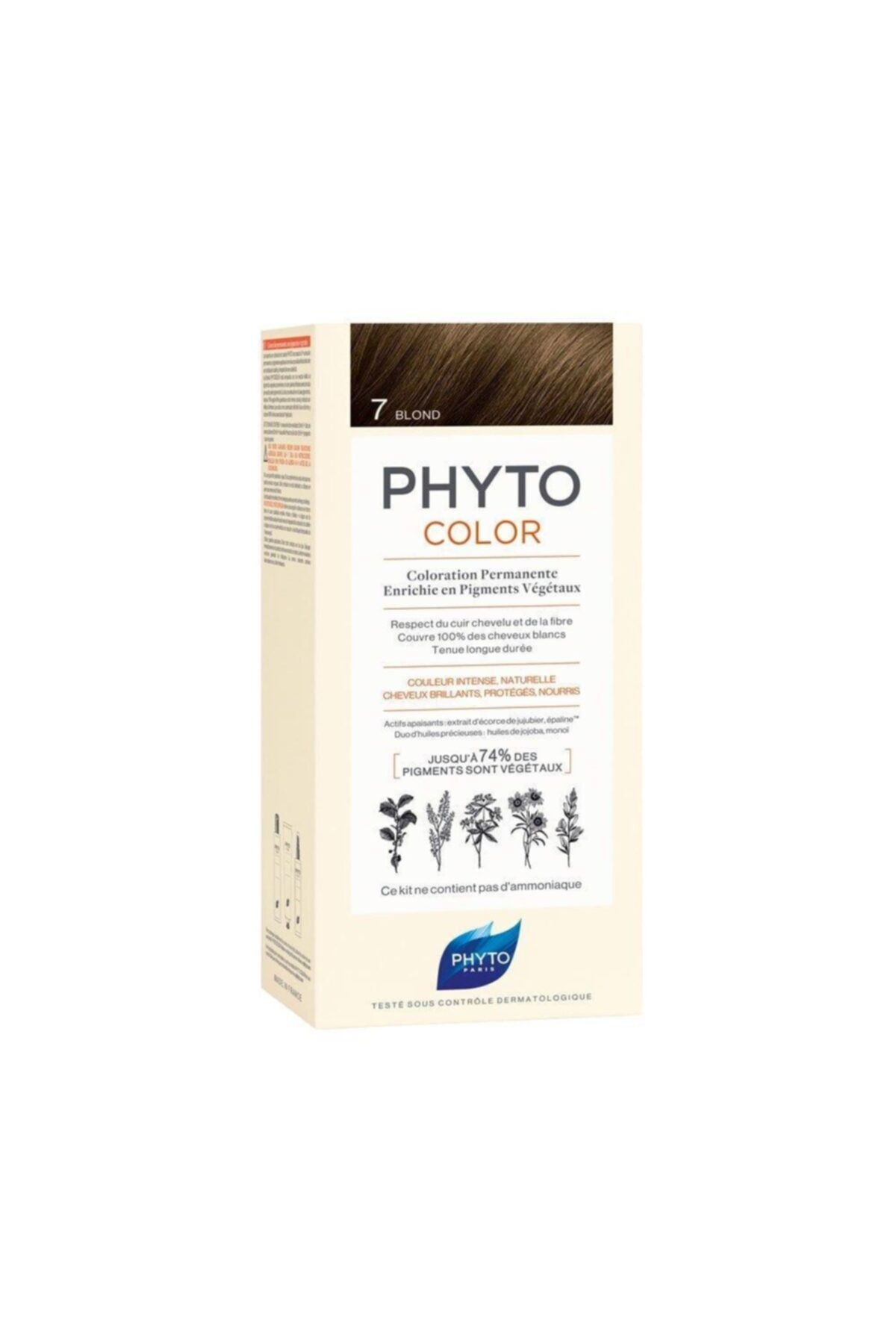 Phyto Color 7 - Kumral (Bitkisel Saç Boyası) - 1