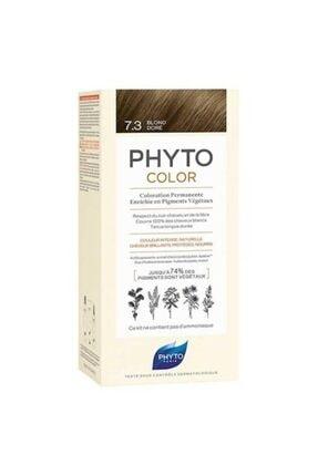Phyto Color 7.3 - Kumral Dore (Bitkisel Saç Boyası) -