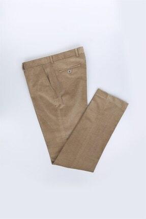 Jakamen Bej Renk Regular Fit Erkek Pantolon
