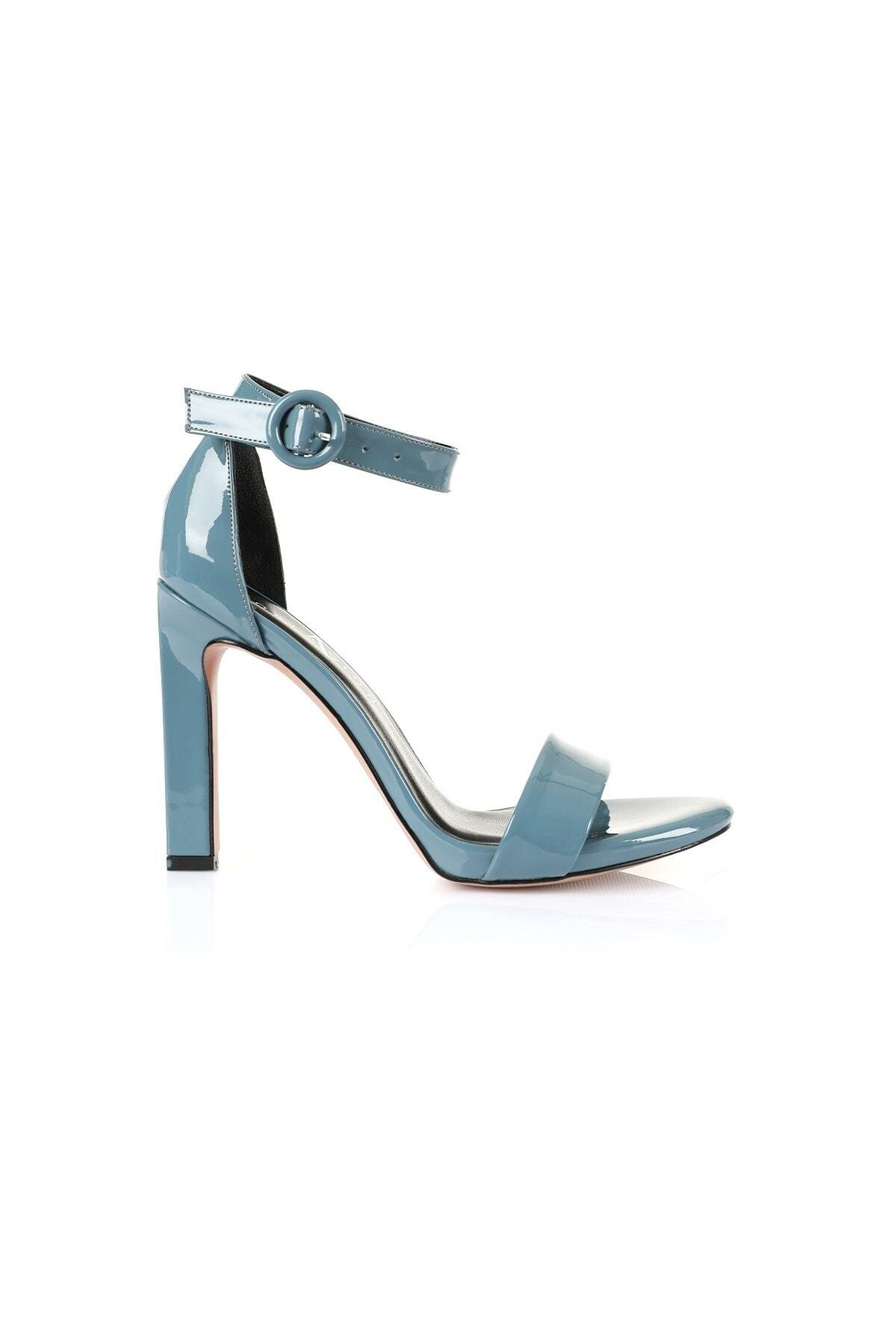 Oblavion Carmen Indigo Mavi Topuklu Ayakkabı 1