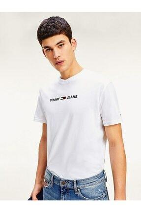 Tommy Hilfiger Erkek Tj Straight Logo T-shirt
