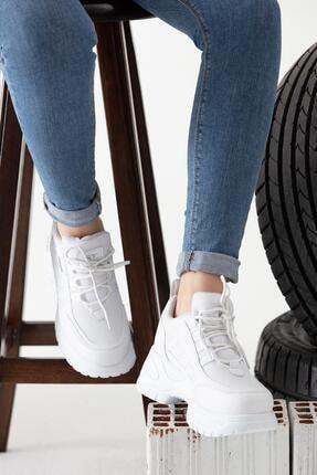 MP Beyaz Spor Ayakkabısı
