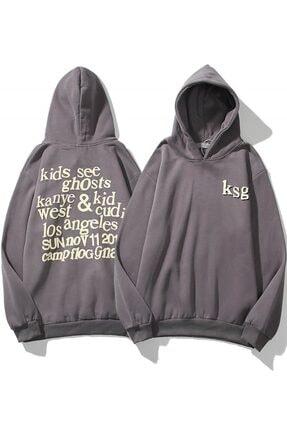 Trendiz Ksg Oversıze Sweatshirt Koyugrı Tr30022