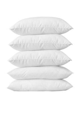 Madame Clean Home 5 Adet Antialerjik 50x70 Boncuk Slikon Yastık 1000 gr/
