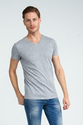 Collezione Grimelanj Erkek Sıyah Spor Slim Kısa Kol T-shirt