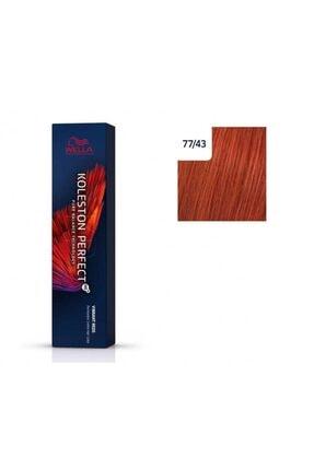 Wella Koleston Perfect Me+ Vibrant Reds 77/45 Kırmızı Enerji 60ml