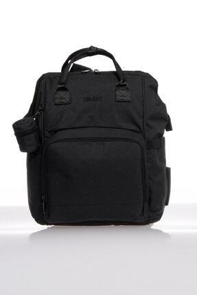 SMART BAGS Smb2007-0001 Siyah Kadın Bebek Bakım Sırt Çantası